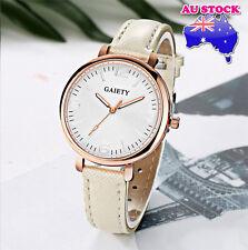 Wholesale White Leather Steel White Dial Quartz Watch Women Lady Wrist Watch