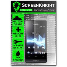 ScreenKnight Sony Xperia Miro SCREEN PROTECTOR invisible Military Grade shield