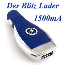 Universal USB Lader Ladegerät Ladeadapter Zigarettenanzünder Auto KFZ Handy B