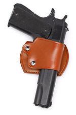 Leather YAQUI Holster - Colt / Kimber 1911 (#045 BRN)