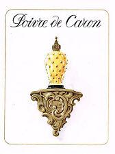 PUBLICITE ADVERTISING 0314   1954    CARON  pafum POIVRE
