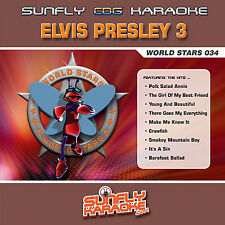 ELVIS VOL 3 SUNFLY KARAOKE CD+G