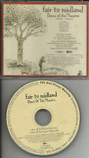 FAIR TO MIDLAND Dance of the Manatee RARE EDIT PROMO DJ CD single USA 2007 MINT