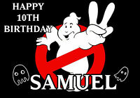 Personalised Ghostbusters Birthday Greeting Card A5