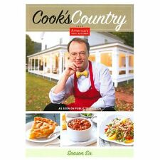 COOK'S COUNTRY - SEASON 6 SIX 2-Disc DVD Set PBS America's Test Kitchen NEW