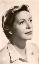 CARTE POSTALE PHOTO CELEBRITE ACTRICE MADELEINE ROBINSON