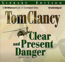 NEW Clear and Present Danger by Tom Clancy