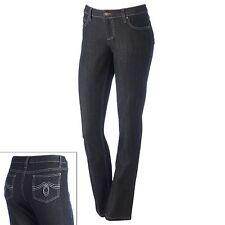 So Juniors Size 7 Black Skinny Leg 5 Pocket Stretch Denim Jeans NEW FREE SHIP