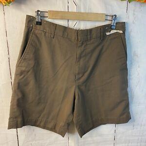 TWINHILL Men's Shorts Size  1M 34  Uniform Brown AS IS