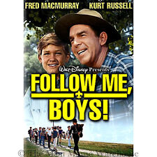 Disney Scouts Scoutmaster Movie 1930s Boy Scouts of America Follow Me Boys DVD
