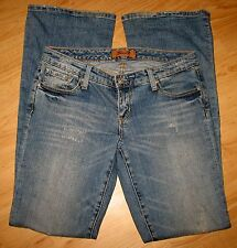 "SEVEN 7 - SIZE 28   WILL FIT 31"" WAIST -  BOOTCUT - STRETCH BLUE JEANS"