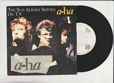 A-HA ♫  The sun always shines on T.V.  ♫  Wea 1985 . 88467