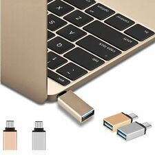 USB-C Type C Male to USB 3.0 Female OTG Data Sync Adapter for Phone Macbook NEW