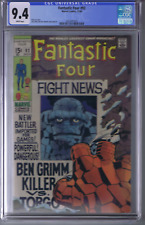 Fantastic Four  #92 Marvel 1969 CGC 9.4 (NEAR MINT ) WHITE PAGES