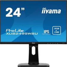 "iiyama ProLite XUB2495WSU-B1 61cm (24"") WUXGA Office-Monitor IPS HDMI/DP Pivot"