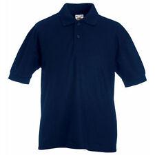 T-shirts, hauts et chemises bleu manches courtes en polyester pour fille de 2 à 16 ans