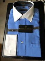 Donald J Trump Signature Collection Men's Button Up Dress Shirt Sz 15 1/2- 34/35