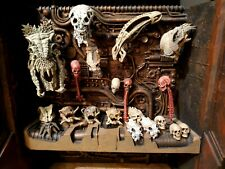 Neca Predator 2 Trophy Wall Diorama complete with extra skulls and original box