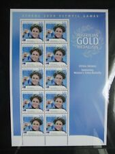 Australia 2004. Athens Olympics. Petra Thomas Sheet Mint.