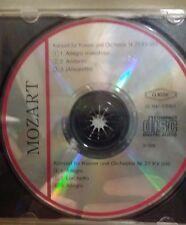Mozart - Konzert fur Klavier und Orchester Nr. KV 503 &No. 27 KV 595  1976