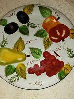 """Oneida Vintage Fruit 10 1/2"""" Dinner Plate"""