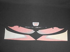 BRAND NEW GENUINE APRILIA RS 50 2003 SBK BLACK REAR FAIRING DECAL SET AP8267800