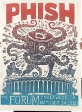 Phish Fall Tour 2021 LA Forum Poster Print by Attack Peter Color Variant