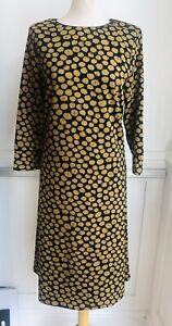 Pomodoro Honey spot midi dress
