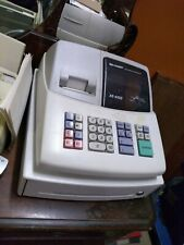 Used SHARP XE-A102 Cash Register no key