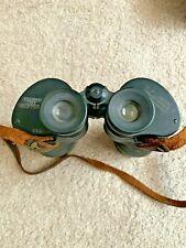 Vintage M16 Military Binoculars Nash- Kelvinator 1944 F-7X50 Clear View VF.