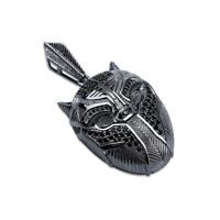 Mens Stainless Steel Lion Head Pendant Chain Necklace Leather Rope Bracelet