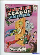 JUSTICE LEAGUE OF AMERICA #2 VG- 1960 JLA DC