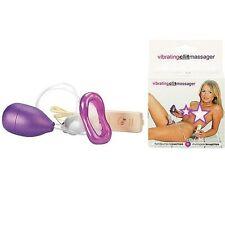 Stimolatore donna clitorideo a pompetta con vibrazione Massaggiatore vagina