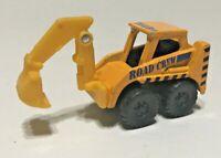 2005 Maisto Tonka Road Crew Orange Back Hoe 1:64 Diecast Vehicle Hasbro