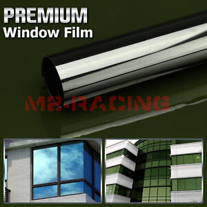 Green Smoke Window Tint Film UV Heat Reflective Home Office #19