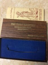 Schrade Cutlery - Teddy Roosevelt Comm. Knife Limited Edition BOX ONLY