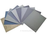 4 Mixed Sandpaper Sanding Sheet Polishing Paper Wet Or Dry And Abrasive Set Pack