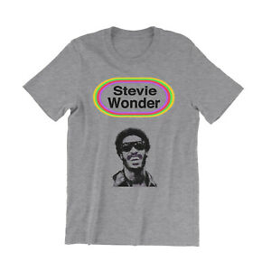 Stevie Wonder Looking Back T Shirt - Songs In The Key Of Life - Concert Shirt