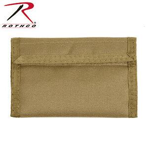 10629 Rothco Commando Wallet - Black, Olive Drab, Coyote Brown