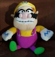 """Super Mario Bros Wario Soft Plush Stuffed Doll Toy Figure Cuddly Gift Teddy 8"""""""