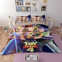 Single/Double/Queen/King Bed Doona/Quilt/Duvet Cover Set Toy Story Bedding Sets