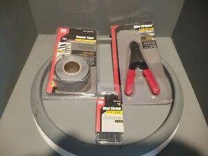 Variety Value Pack (3) Gardner Bender, Stripper, Repair Tape, Heat Shrink Tubing