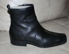 Rockport Men's Toloni Ankle Boot Black Size 8.5 W