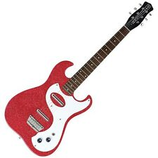 DANELECTRO 63 GUITAR - RED METAL FLAKE