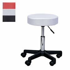 Swivel Salon Stool Adjustable Beauty Facial Tattoo Spa Chair Seat w/ 3 Covers