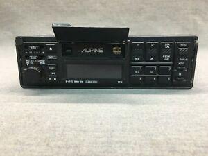 Vintage Alpine 7235 Car Audio Cassette Deck