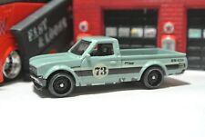 Hot Wheels Loose - Datsun 620 Pickup Truck - Camo Green - 1:64