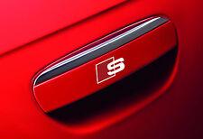 5 x Audi S-line Aufkleber für Türklinke A3 A4 A5 A6 A7 RS S6 TT Q7 Emblem Logo