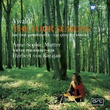 Anne-Sophie Mutter Herbert Von Karajan - Vivaldi: The Four Seasons (NEW CD)