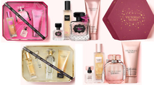 RETAIL PRICE $85 - NEW FAVORITE VICTORIA'S SECRET FRAGRANCE GIFT SET - 4 ITEMS